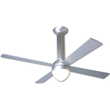 Stratos Fan with Light by Modern Fan Co. | str-ba-52-al-650-nc