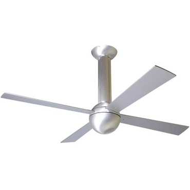 Stratos Fan No Light by Modern Fan Co. | STR-BA-52-AL-NL-NC