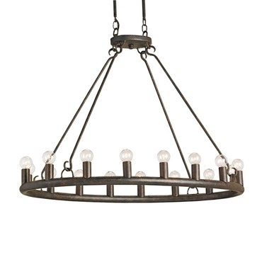 Wilford Oval Chandelier