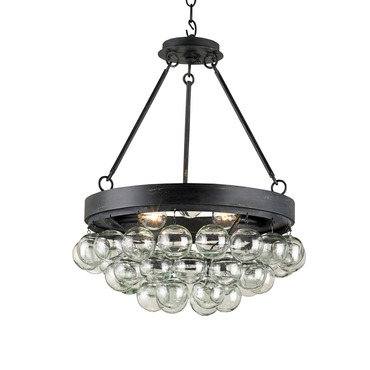 Balthazar Round Pendant by Currey and Company | 9887-CC
