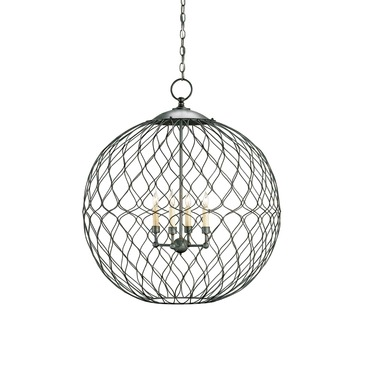 Simpatico Large Orb Pendant by Currey and Company | 9617-CC