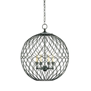 Simpatico Small Orb Pendant by Currey and Company | 9618-CC