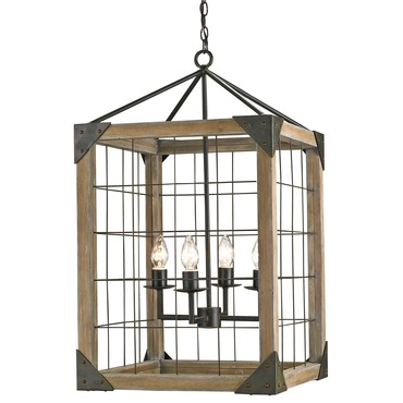 Eufaula Lantern by Currey and Company | 9083-CC