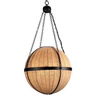 Wiggins Orb Pendant by Currey and Company | 9091-CC