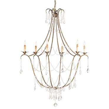 Elizabeth Chandelier by Currey and Company | 9048-CC