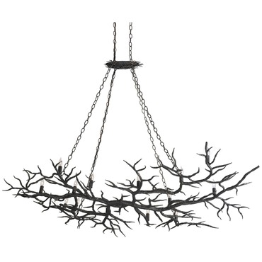 Rainforest Chandelier by Currey and Company | 9007-CC