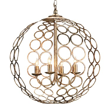 Tartufo Pendant by Currey and Company | 9961-CC