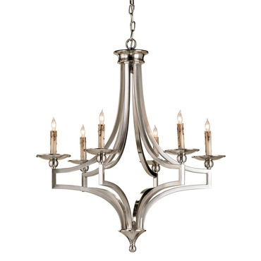 Nocturne Chandelier by Currey and Company | 9674-CC