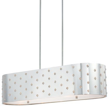 Bling Bling 4 Light Island Pendant by George Kovacs | P026-077