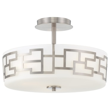 Alecias Necklace Semi Flush Ceiling