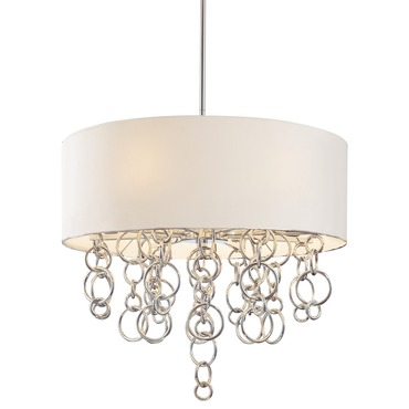Ringlets 8 Light Pendant by George Kovacs | P612-0-077