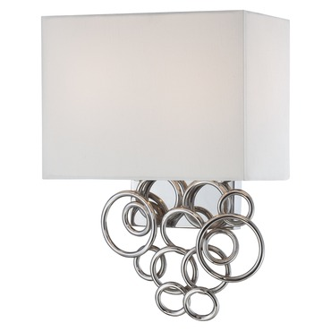 Ringlets Wall Sconce by George Kovacs | P612-3W-077
