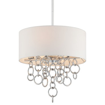 Ringlets 4 Light Pendant by George Kovacs | P612-5-077