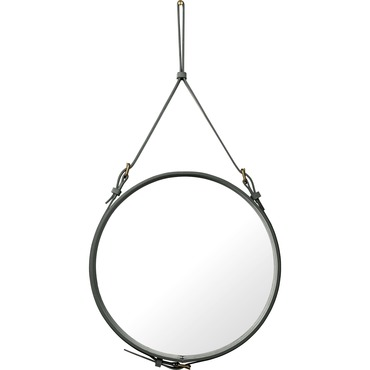 Adnet Medium Round Mirror
