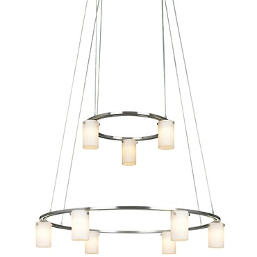 P8024 Two Tier Chandelier by George Kovacs | P8024-1-084