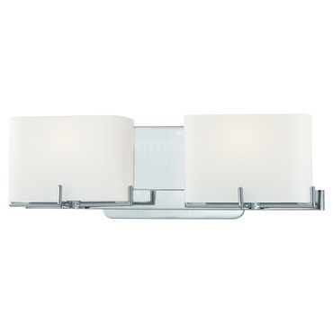 Curvy Corner Bath Light