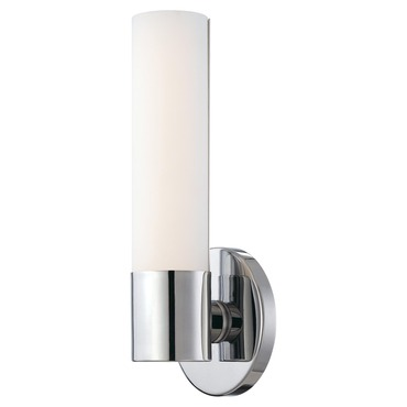 Saber Compact Florescent Wall Sconce by George Kovacs | P5041-077-PL
