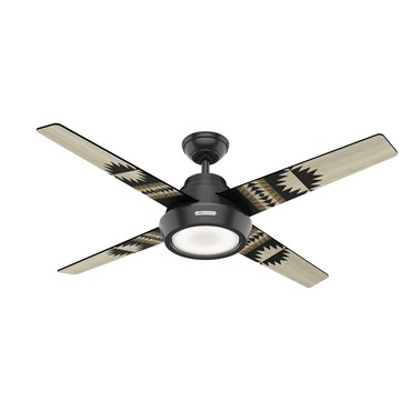 Spider Rock Ceiling Fan with Light