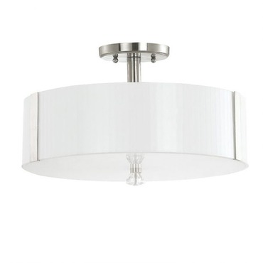 Alisa 3 Light Semi Flush Ceiling Light