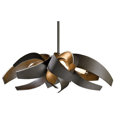 Corona Small Pendant Standard Length by Hubbardton Forge | 136500-07-YE352