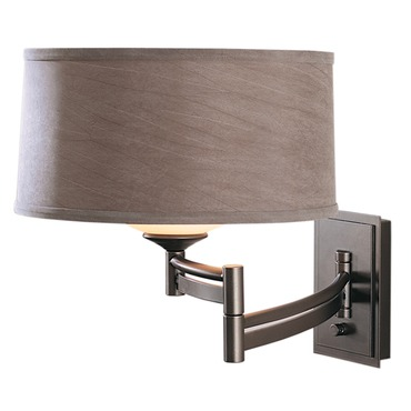 Right Swing Arm Wall Light by Hubbardton Forge | 209310R-07-314G