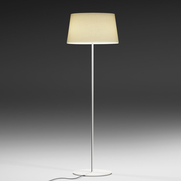 Warm Fabric Shade Floor Lamp
