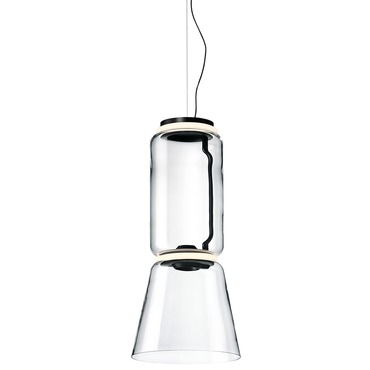 Noctambule Low Cylinder Pendant with Cone
