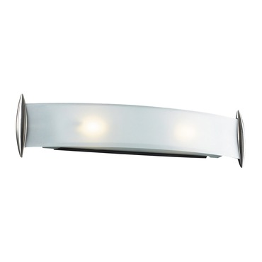Scroll Bathroom Vanity Light  by PLC Lighting | 1342-SN