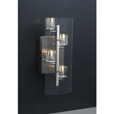 Ice Cube Wall Light by PLC Lighting | 1532-SN