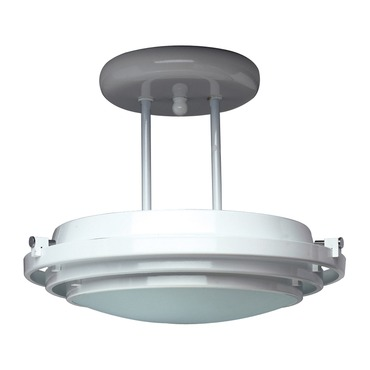 Cascade Semi Flush Mount by PLC Lighting | 1614-PB