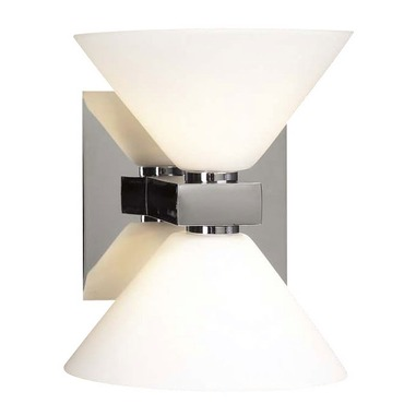 Matrix 2 Light Wall Light by PLC Lighting | 540-PC