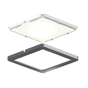 Ultra Slim Square Puck Light Kit/3
