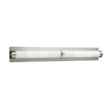 Polipo Bathroom Vanity Light with Endcaps by PLC Lighting | 916 SN