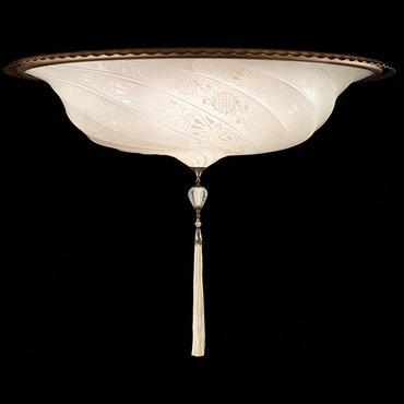 Scudo Saraceno Glass Ceiling Light Fixture
