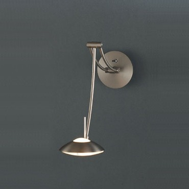 Liana Swing Arm Wall Sconce by Lightology Collection | FM-lc-a-782nm
