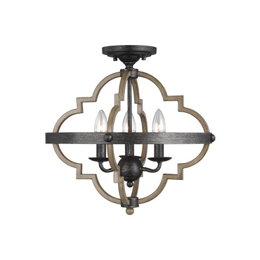 Socorro Semi Flush Ceiling Light