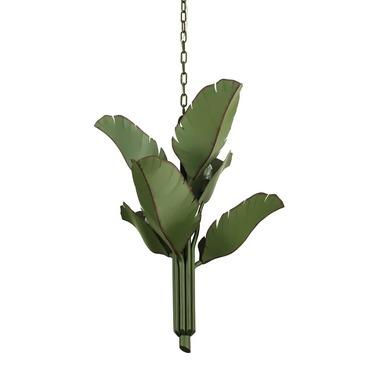Banana Leaf Chandelier