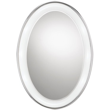 Tigris Oval Recessed Mirror by Tech Lighting | 700bctigor24c