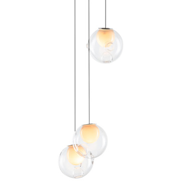 Series 28 Round Multi Light Pendant