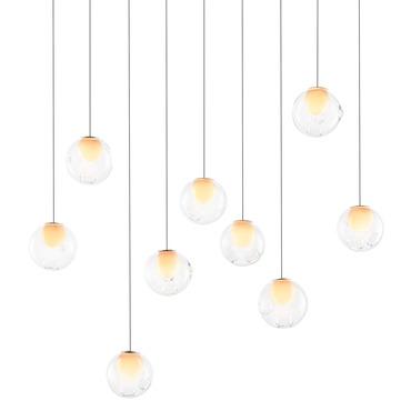 28.9 Linear Multi Light Pendant