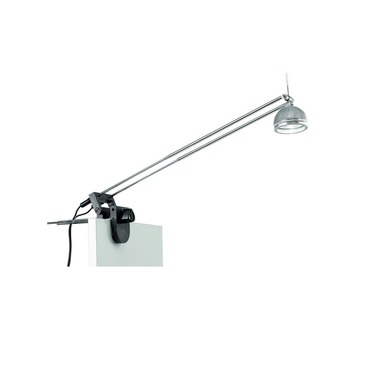 CP1 Clamp-On Light 75W by Tech Lighting | 700CP17BK