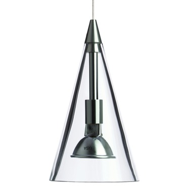 Freejack Cone Pendant by Tech Lighting | 700FJCONCC