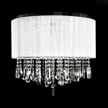 Beverly Drive Dual Hanging/Flush Mount by Avenue Lighting | HF1502-WHT