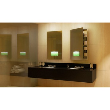 Seamless Medicine Cabinet with TV by Electric Mirror