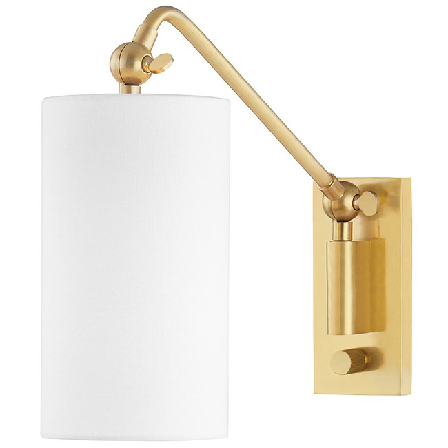 Wayne Swing Arm Wall Sconce  by Hudson Valley Lighting