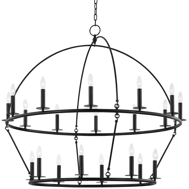 Howell Dual Tier Chandelier  by Hudson Valley Lighting