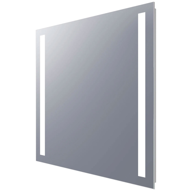 Fusion 24X28 Rectangle Lighted Mirror  by Electric Mirror