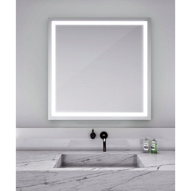 Integrity Square Lighted Mirror by Electric Mirror | INT-4242