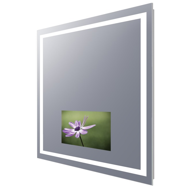 Integrity Lighted Mirror with 15 inch TV  by Electric Mirror