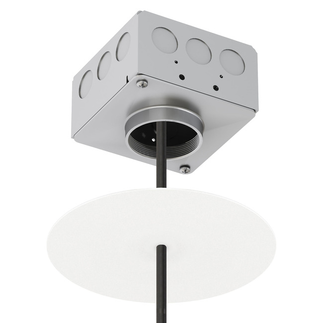Vanishing Point Invisible Canopy  by Modern Lighting